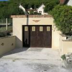 enduit renovation garage