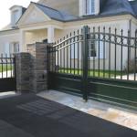 portail alu gamme tradition-modele-clignancourt portillon pantin