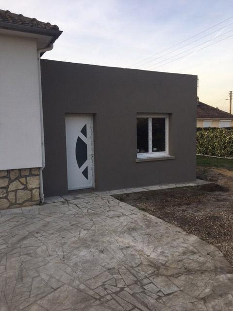 extension maison plain pied 76. Black Bedroom Furniture Sets. Home Design Ideas