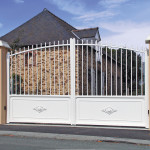 portail aluminium gamme-tradition modele la chapelle